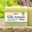 Haarwaschseife Nelke-Teebaum